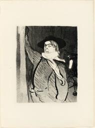 Portrait of Aristide Bruant, from Le Café-Concert