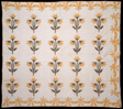 Bedcover (North Carolina Lily or Virginia Lily Quilt)