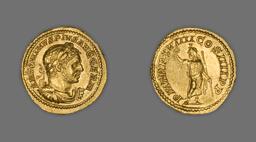 Aureus (Coin) Portraying Emperor Caracalla