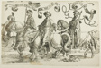Abijah, Asa, Jehosafat, plate two, from The Twelve Kings of Israel