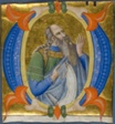 "Prophet in a Historiated Initial ""O"" from a Gradual"