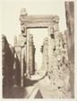 Karnac, Grande Allée du Milieu des Ruines, Prise de l'est