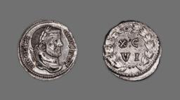 Argenteus (Coin) Portraying Emperor Diocletian