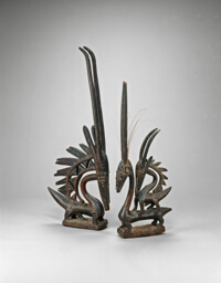 Pair of Headdresses (Ci Wara Kunw)