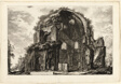 View of the Octagonal Temple of Minerva Medica, from Views of Rome
