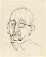 Portrait of Gustav Schiefler