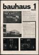 BAUHAUS. Zeitschrift für Gestaltung