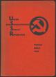 "Union of Soviet Socialist Republics:  Catalogue of the Soviet Pavilion at the International Press Exhibition, Cologne (""Pressa"") [Union der Sozialistischen Sowjet-Republiken:  Katalog des Sowjet-Pavillons auf der Internationalen Presse-Ausstellung, Köln (""Pressa"")"