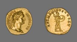 Aureus (Coin) Portraying Emperor Domitian