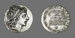 Tetradrachm (Coin) Portraying Mithradates VI of Pontus and Bithynia