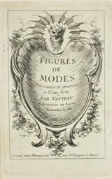 Title Page, from Figures du mode