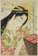 The Courtesan Tsukioka of the Hyogoya