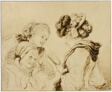 Margaruerite Gerard Reading to Her Mother and Rosalie Fragonard