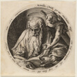 Saint Matthew, plate one from The Four Evangelists