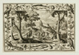 Wolf Hunt, from Landscapes with Old and New Testament Scenes and Hunting Scenes