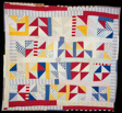 "Quilt Entitled ""Pinwheel"""