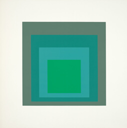 Patina, plate five from Homage to the Square: Ten Works by Josef Albers