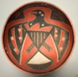 Bowl Depicting a Bird with Outstretched Wings