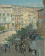 View of a Southern French City