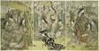 Picture of Hideyoshi and his Five Wives Viewing Cherry Blossoms at Higashiyama (Taiko gosai rakuto yukan no zu)