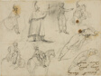 Sketches of Soldiers and Horses