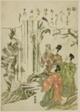 """Na"": Nunobiki Waterfall, from the series ""Tales of Ise in Fashionable Brocade Pictures (Furyu nishiki-e Ise monogatari)"""