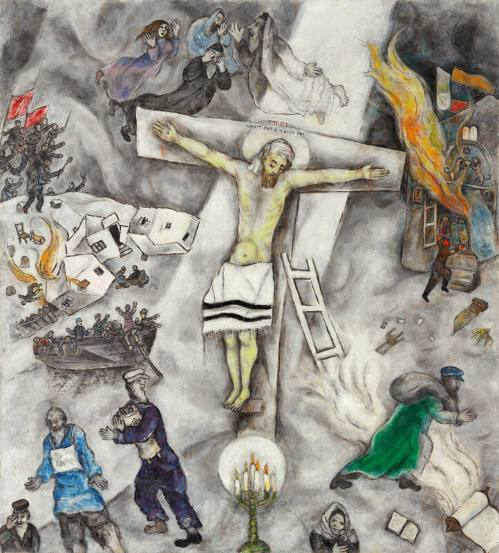 White Crucifixion | The Art Institute of Chicago Chagall Crucifixion