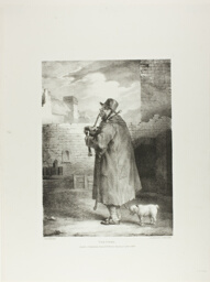 The Piper, plate 1 from Various Subjects Drawn from Life on Stone