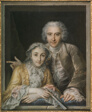 Portrait of Philippe Coypel and His Wife