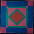 Bedcover (Amish Diamond in a Square)