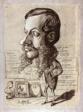 Caricature of Léon Manchon