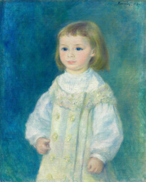 Lucie Berard (Child in White)