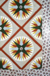 Bedcover (Unfinished Mariner's Compass Quilt)