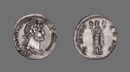 Denarius (Coin) Portraying Emperor Hadrian