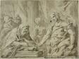 David Receiving the Hallowed Bread from Alchimelek