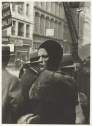 Girl in Fulton Street, New York
