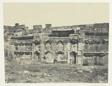 Baalbeck, Intérieur De L'Enceinte Des Temples Du Soleil Et De Jupiter; Syrie
