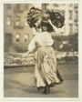 First Work in America, Italian Immigrant Carries Garments To The Tenement Home