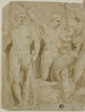 Ancient Sarcophagus Relief with the Labors of Hercules
